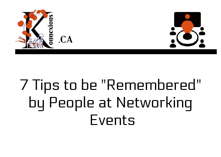 Networking Tips Konnexions